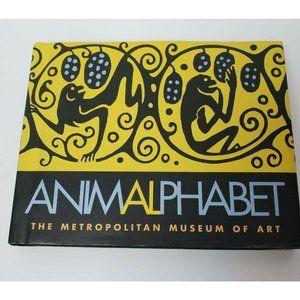 Kids Animalphabet Charming Alphabetical  Book